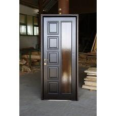Interior doors of solid linden wood
