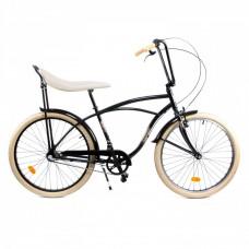 Pegas bicycle : Street 1 3S , Black Punisher for men
