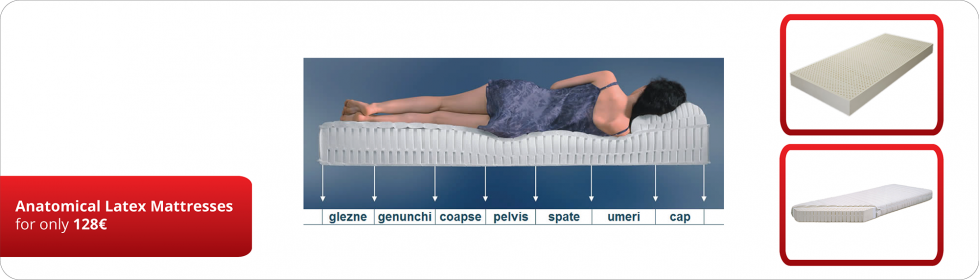 Anatomical Latex Mattresses